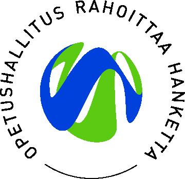 Opetushallitus rahoittaa -logo